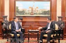 Estimula Ciudad Ho Chi Minh inversiones de Corea del Sur
