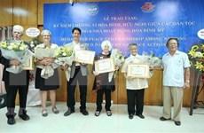 Honran en Vietnam a seis activistas estadounidenses por la paz