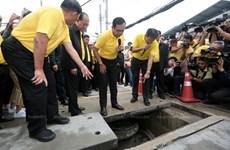 Construye Tailandia bancos de agua en Bangkok para prevenir inundaciones
