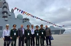 Vietnam participa en exposición de defensa marítima en Rusia