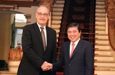 Ciudad Ho Chi Minh promueve cooperación con Suiza