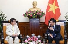 Destaca vicepremier de Vietnam relaciones con Japón