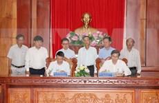 Firman VNA y provincia de Tien Giang acuerdo de cooperación
