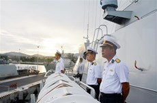 Participará fragata vietnamita en desfile naval por el Día de la Armada de Rusia