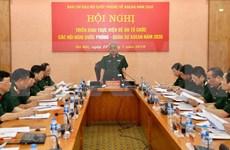 Se prepara el Ministerio de Defensa de Vietnam  para el año ASEAN 2020