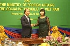 Realizan Vietnam y Camboya su sexta consulta política