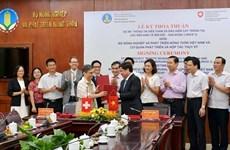 Impulsan en Vietnam aplicación de avanzadas tecnologías en cultivos con asistencia suiza
