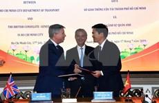 Cooperan Ciudad Ho Chi Minh y Reino Unido para el desarrollo de la urbe vietnamita