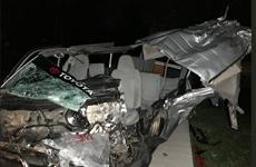 Mueren cuatro personas y nueve resultan heridas en un accidente vial en Filipinas