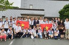 Triunfan estudiantes vietnamitas en Concurso Internacional de Matemática en Japón