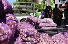 Refuerza Tailandia el control de productos