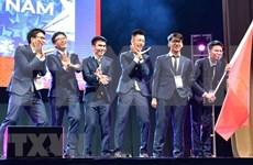 Estudiantes vietnamitas ganan dos medallas de oro en la Olimpiada Internacional de Matemática