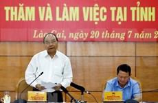 Pide premier de Vietnam desarrollo sostenible del turismo en provincia de Lao Cai