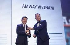 Seleccionan a Amway Vietnam entre las mejores para trabajar en Asia