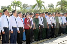 Resalta presidenta de la Asamblea Nacional de Vietnam contribuciones de veteranos de guerra