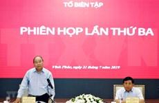 Pide premier de Vietnam adecuar estrategia socioeconómica a nueva situación mundial