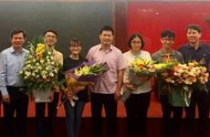 Ganan estudiantes vietnamitas medallas en Olimpiada Internacional de Biología 2019