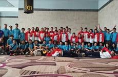 Ganan estudiantes vietnamitas medallas de oro en los XI Juegos Universitarios de la ASEAN