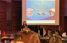 Efectúan en Hanoi Foro de Mujeres Vietnam–Rusia