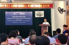 Comparten Vietnam y Singapur experiencias en museología en Hanoi