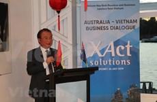 Expresa embajador de Vietnam en Australia optimismo sobre futuro de los nexos económicos bilaterales