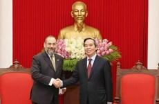 Otorga Vietnam importancia a sus nexos económicos con Estados Unidos