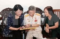 Destaca vicepresidenta vietnamita contribuciones de mártires