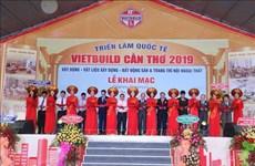Inauguran Exposición Internacional Vietbuild 2019 en la provincia vietnamita de Can Tho
