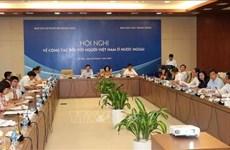 Afirman que los vietnamitas en ultramar juegan papel importante en el desarrollo nacional