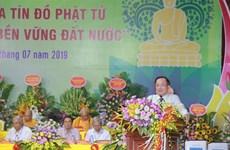 Debaten en Vietnam sobre papel del budismo en el desarrollo sostenible del país
