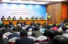 Inauguran VII seminario teórico entre partidos de Vietnam y Laos