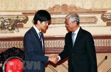 Promueve Vietnam la participación de Japón en proyectos de transporte urbano y medio ambiente