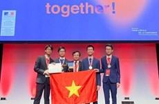 Ganan estudiantes vietnamitas medallas de oro y plata en Olimpiada Internacional de Química 2019