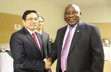 Dirigente partidista vietnamita realiza visita de trabajo en Sudáfrica