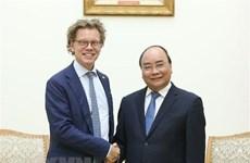 Exhorta primer ministro vietnamita a ampliar cooperación con Suecia
