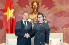 Aboga presidenta del Parlamento vietnamita por pronta ratificación de acuerdos firmados con la UE