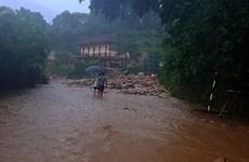 Azota tifón Wipha región norteña de Vietnam