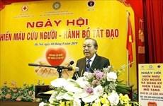 Se unen seguidores budistas vietnamitas a campaña de donación de sangre y órganos