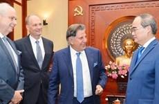 Propone corporación alemana TTI inversión millonaria en Vietnam