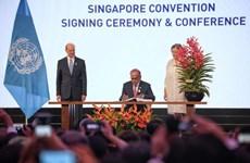 Firman en Singapur convención sobre la mediación