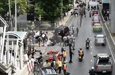 Arrestan a sospechosos de atentados con bombas en Bangkok