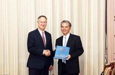 Proyectan Ciudad Ho Chi Minh ampliar cooperación con grupo VISA
