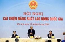 Propone primer ministro vietnamita tareas para elevar la productividad nacional