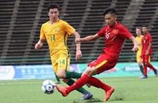 Australia vence a Vietnam en ronda eliminatoria de Campeonato regional sub 18 de futbol