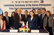 Continuarán Corea del Sur y Filipinas negociaciones sobre TLC esta semana