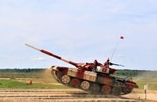 Ocupa Vietnam primer lugar en semifinal del biatlón de tanques en los Juegos Militares Internacionales 2019