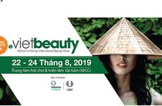 Prevén nutrida participación en mayor exposición cosmética en Vietnam