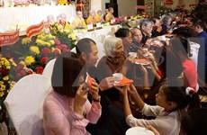 El consumo de alimentos vegetarianos: costumbre popular durante el Festival de Vu Lan