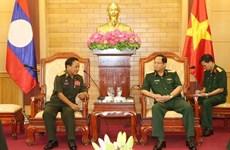 Ejércitos de Vietnam y Laos fortalecen colaboración en protección política interna