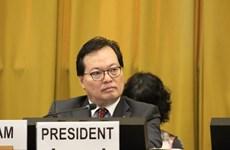 Resaltan exitoso empeño de Vietnam como presidente de Conferencia de Desarme 2019